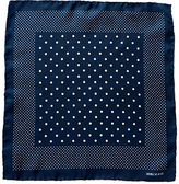 Ralph Lauren Dot-print Silk Pocket Square