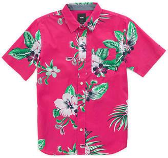 Vans Boys Trap Floral Buttondown Shirt