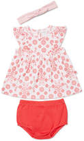 Marquise Dress, Bloomer, Headband Set (NB - 1Y)