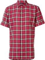 Neil Barrett plaid printed shirt