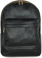 Topman Mi-pac Black Faux Leather Backpack*
