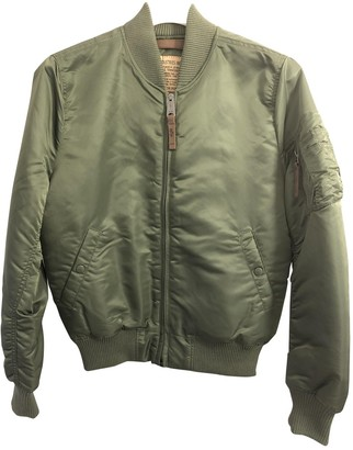 Alpha Industries Green Polyester Jackets