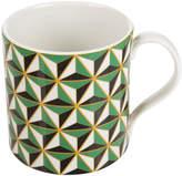 Jonathan Adler Carnaby Mug - Versaille - Green