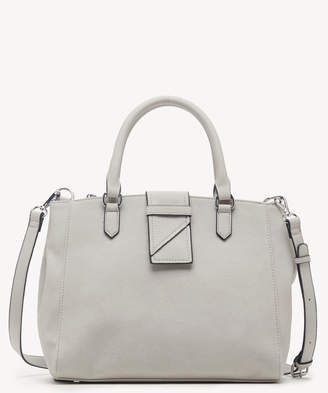 Sole Society Women's Valah Satchel Mid In Color: Linen Bag Faux Leather From