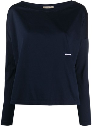 Ma Ry Ya Dropped-Shoulder Long Sleeved Top