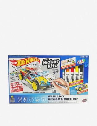 Hot Wheels Maker Kitz DIY Design and Race Kit