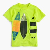 J.Crew Boys' short-sleeve rash guard in surfboard trio