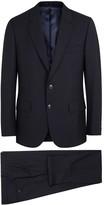 Paul Smith Mayfair Midnight Blue Wool Travel Suit