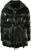 Thumbnail for your product : GOEN.J Oversized Glossed Down Jacket