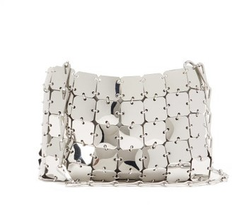 Paco Rabanne 1969 Nano Small Chain Shoulder Bag - Silver