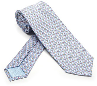 Bulgari Pictorial Tie