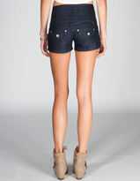 ALMOST FAMOUS Womens Highwaisted Denim Shorts
