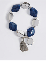 M&S Collection Tassel Leaf Bracelet