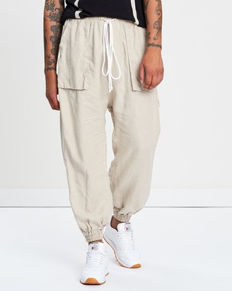 Surrounded By Ghosts The Lyonite Linen Rave Pants