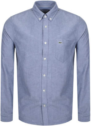 Lacoste Long Sleeved Shirt Navy