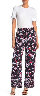 Laundry by Shelli Segal Wide Leg Drawstring Pants