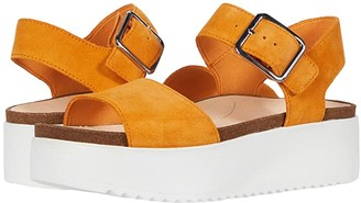 Clarks Botanic Strap (Amber Suede) Women's Shoes