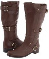Fitzwell Edeen/Wide Calf Boot (Cognac Calf) - Footwear