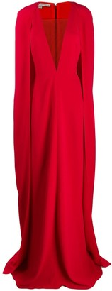 Stella McCartney cape-style evening gown