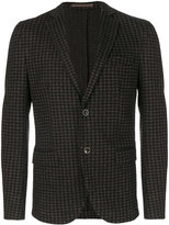 Eleventy single breasted blazer - men - Cotton/Acetate/Virgin Wool/Polybutylene Terephthalate (PBT) - 50