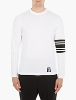 Raf Simons White Cotton Baseball T-Shirt