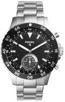 Fossil Q Crewmaster Stainless Steel Hybrid Smartwatch