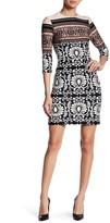 Taylor Jewel Neck Sheath Dress 8639MJ