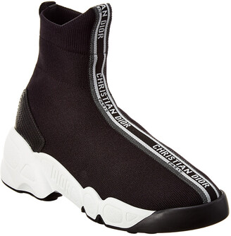 Christian Dior F.Two Point Zero Technical Knit High-Top Sneaker