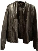 BA&SH Bash Fall Winter 2018 Black Leather Leather jackets