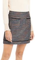 Oasis Boucle Tweed Mini Skirt, Multi