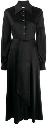 Racil Open-Back Shirt Dress