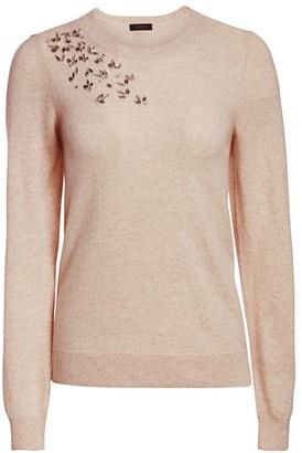 Saks Fifth Avenue Embellished Cashmere Sweater