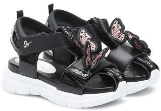 Sophia Webster Mini Riva Wavy leather sandals