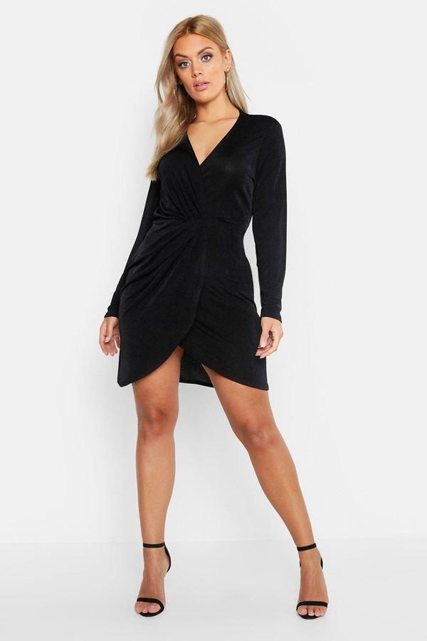 9b87a9b62441c5 boohoo Plus Size Dresses - ShopStyle Canada