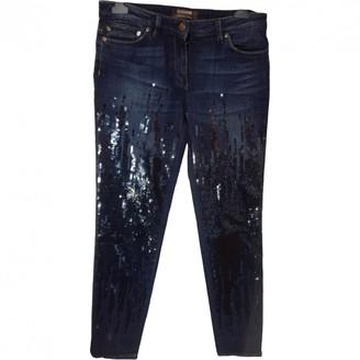 Roberto Cavalli Blue Cotton - elasthane Jeans for Women