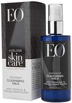 EO Ageless Skin Care Coconut Cleansing Milk with Hibiscus & Mango Seed Butter, 3.3 Ounce