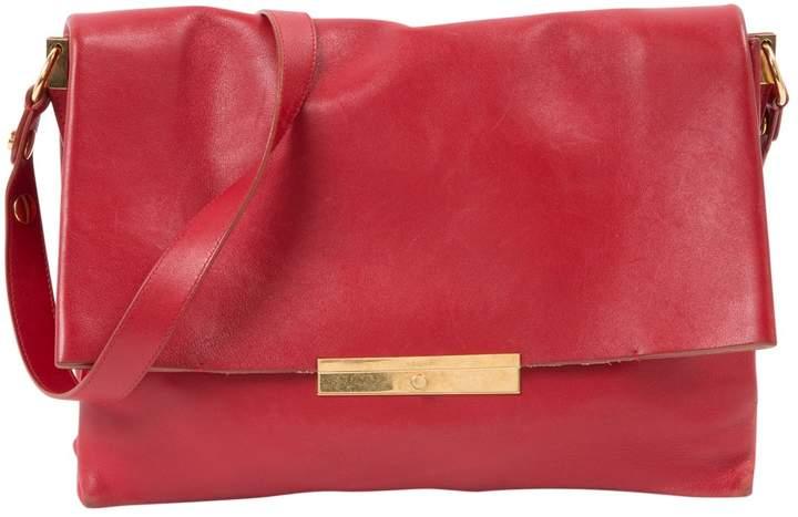 Celine Blade Red Leather Handbag