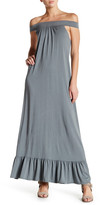 C&C California Hazel Off-The-Shoulder Maxi Dress
