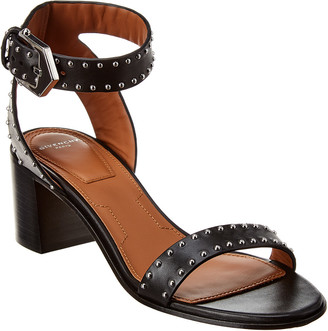 Givenchy Elegant Studded Leather Sandal
