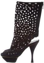 Marni Peep-Toe Platform Boots