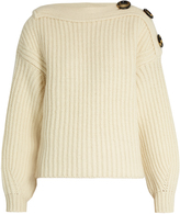 Acne Studios Holden boat-neck wool-blend sweater