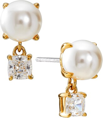 Nadri Emilia Imitation Pearl Drop Earrings