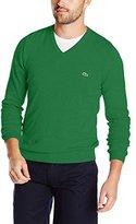Lacoste Men's Classic Long Sleeve Cotton Sweater