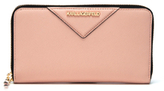 Karl Lagerfeld Women's K/Klassik Zip Around Wallet - Quartz