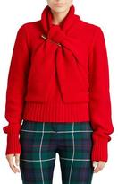 Burberry Twisted Drape Cashmere Sweater