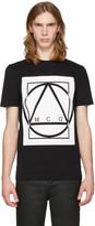 McQ by Alexander McQueen Black Glyph Icon T-Shirt