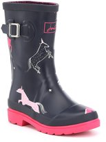 Joules Girls' Waterproof Welly Boots