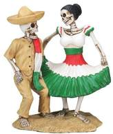 Summit Day of The Dead Dancing Skeleton Couple Figurine Decoration