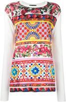 Dolce & Gabbana Mambo print blouse - women - Silk - 42