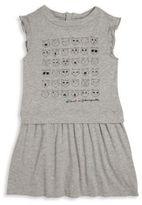 Karl Lagerfeld Toddler's, Little Girl's & Girl's Choupette Emoji Dress